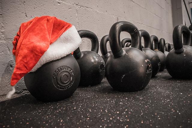 mantenerte en forma en Navidad