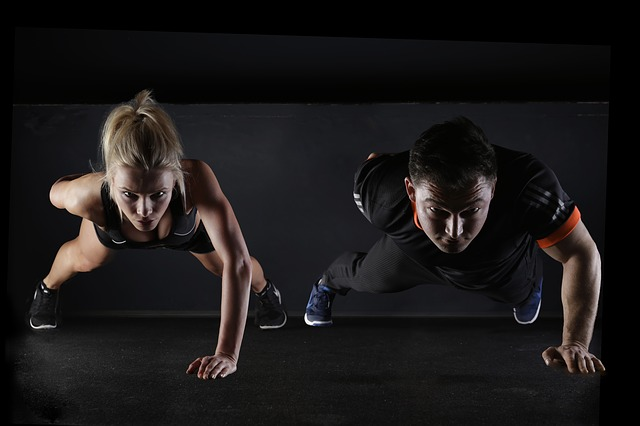 como hacer flexiones