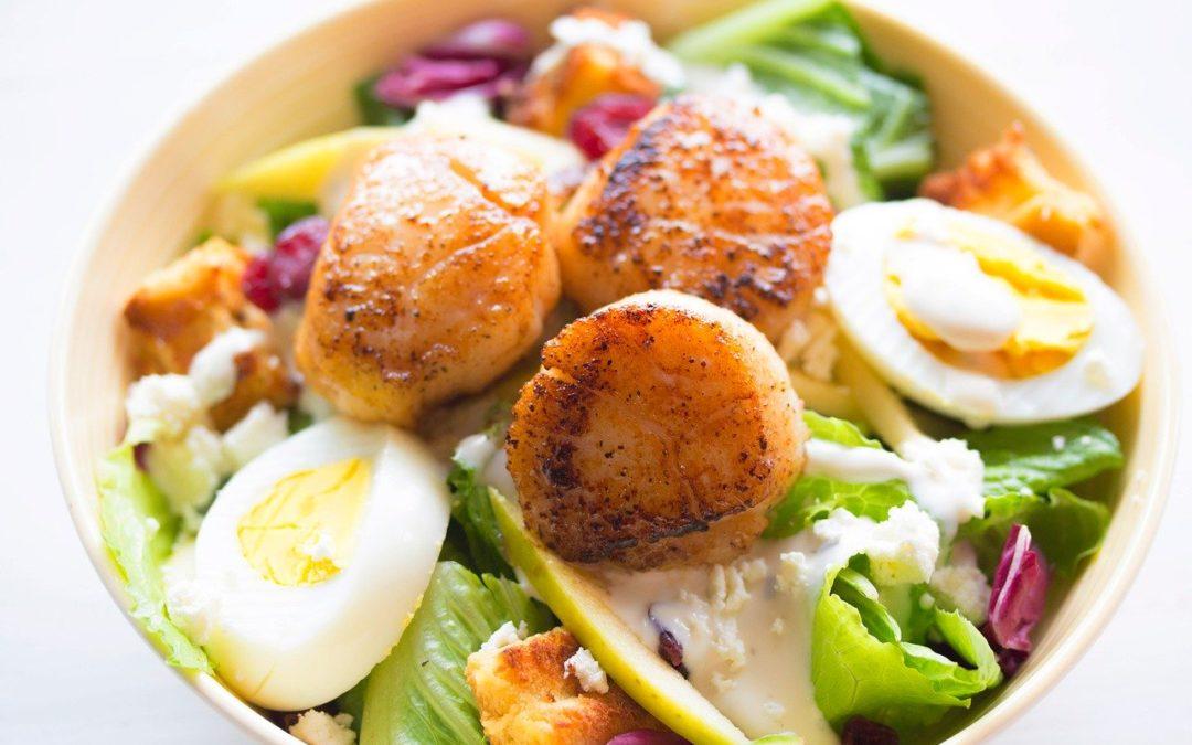 Cenas saludables para perder grasa.
