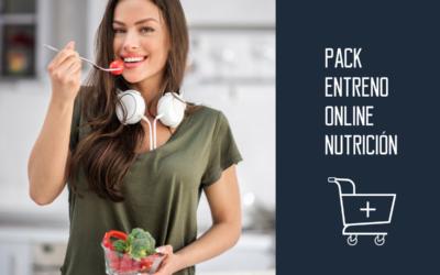 Entrenamiento online y sesiones de nutrición
