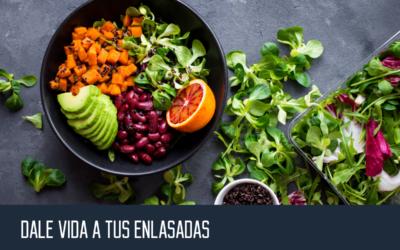 "5 proteínas para darle ""vida"" a tus ensaladas"