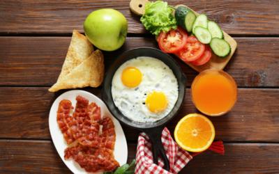 Desayunos antes de entrenar